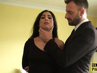Calvo masajeó a Gabrielle Gucci y luego la porno español x folló